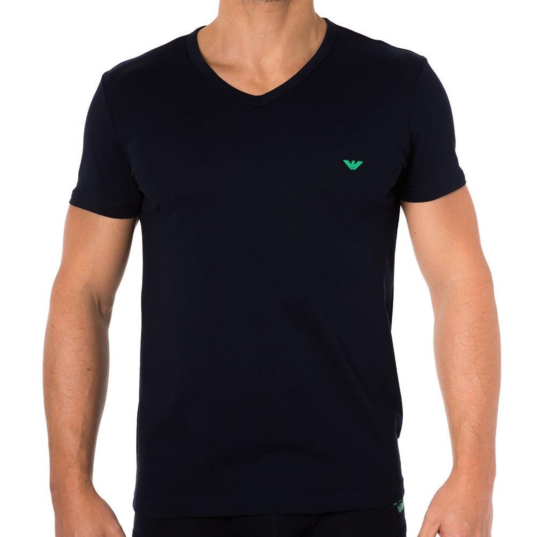Emporio Armani Colored Basic Genuine Cotton T-Shirt