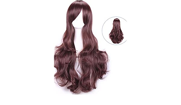 xzl Pelucas de la manera natual drag queen harajuku pelucas cosplay baratas  Peruca mujeres pelucas sintéticas pelucas cosplay peluca del anime de pelo  ... 6aa187dddc9a