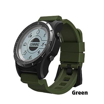 ZCPWJS Pulsera Inteligente S966 GPS Smart Watch Hombres ...