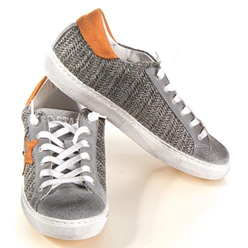 2Star , Herren Sneaker grau grau