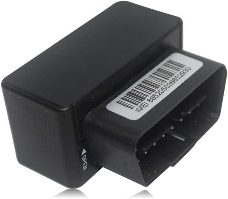 Haodene Rastreador GPS para Coche - Vehículo Rastreador Localizador De Seguimiento En Tiempo Real Control De Voz, GPRS + GPS + BDS + LSB Multi-Modo Sistema De Seguimiento Posicionamiento Preciso