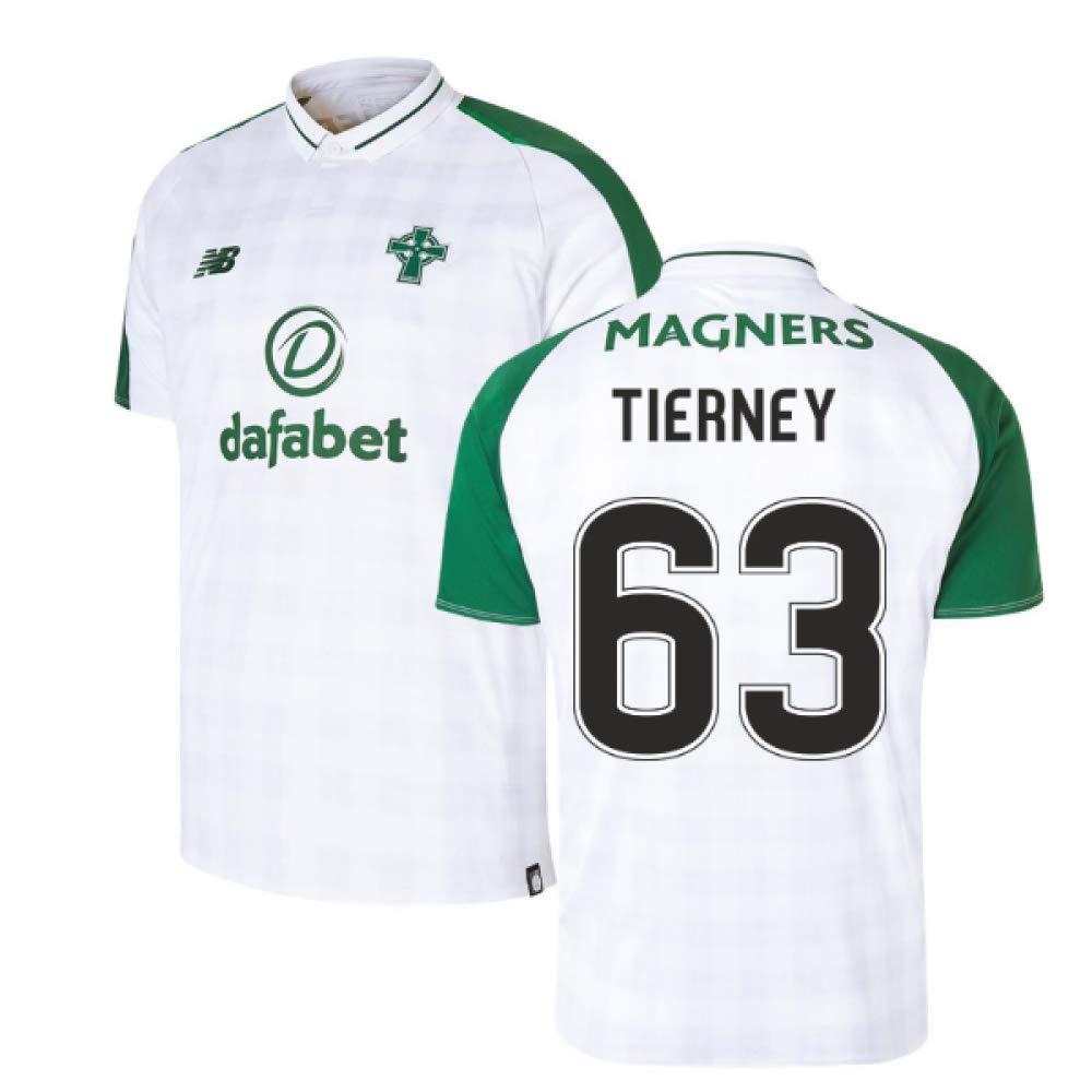 2018-2019 Celtic Away Football Soccer T-Shirt Trikot (Kieran Tierney 63)