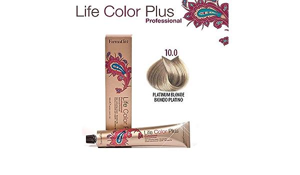 Farmavita Life Color Plus, Tinte 10.0 Rubio Platino - 60 ml