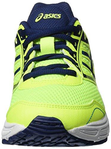 Asics Gel-ikaia 6 Gs - Zapatillas de Entrenamiento Unisex Niños Gelb (SAFETY YELLOW/INDIGO BLUE/THUN)
