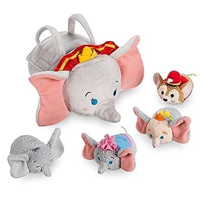 Disney Dumbo ''Tsum'' Plush Set - Small Tote - 9.5 Inch