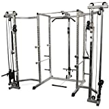 Amazon Com Deltech Fitness Power Rack Squat Rack Sports