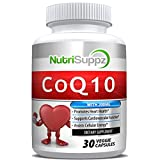 100% Pure CoQ10 200mg (Ubiquinone) Enhanced Formula , Promotes Healthy Heart, Supports Cardiovascular Health, Assists Cellular Energy By NutriSuppz
