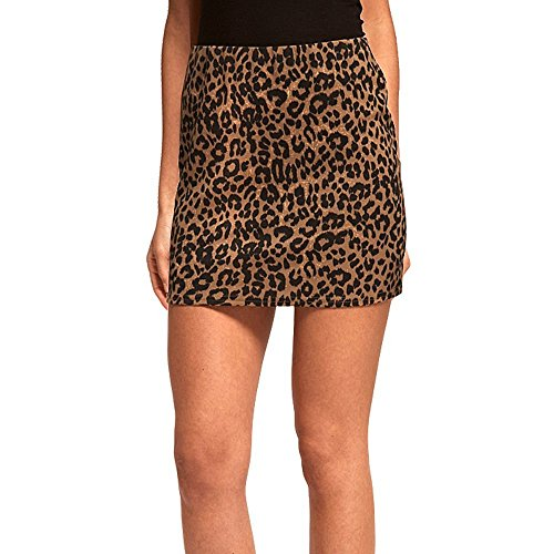 Leopard Print Mini Skirt - 2