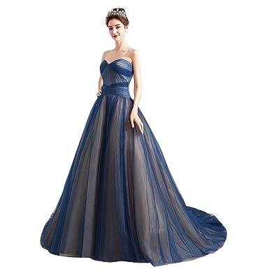 03d7ba0aa96f1 司会ドレス チューブトップ ロングトレーン パーティードレス ウェディングドレス きれい 撮影用フォーマルドレス カラー