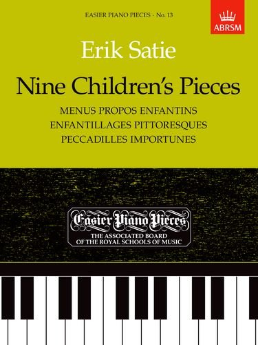 Nine Children's Pieces: Easier Piano Pieces 13 (Easier Piano Pieces (Abrsm))