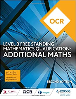 Buy OCR Level 3 Free Standing Mathematics Qualification: Additional