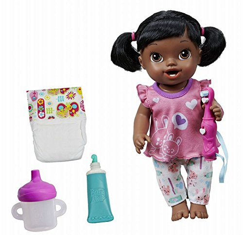 Baby Alive Brushy Brushy Baby Doll - African American