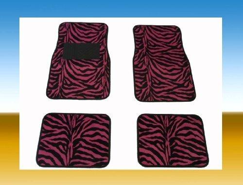 hot pink car mats - 2