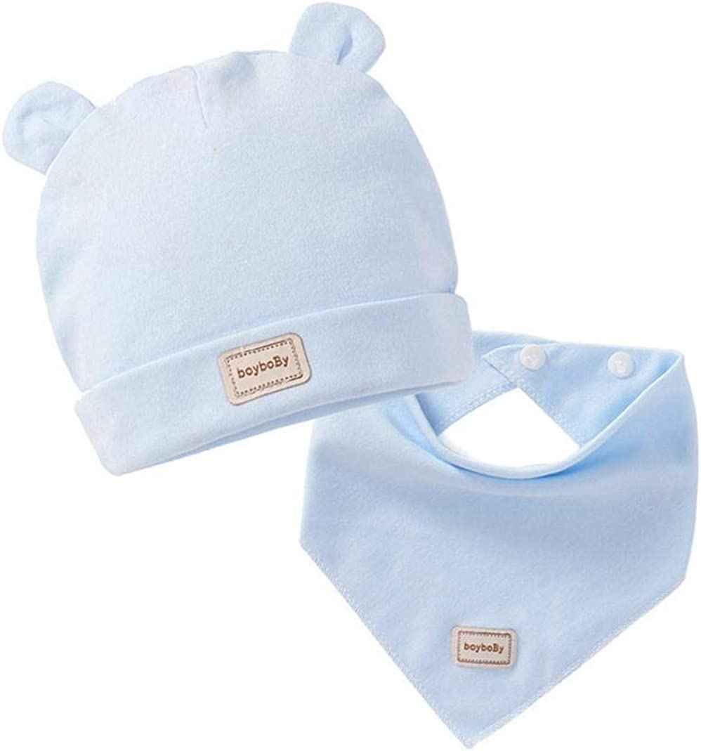 MJuan-clothing Newborn Hat Rabbit Bear Cartoon Hat Cotton Hat