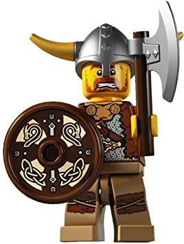 LEGO-MINIFIGURES SERIES 4 X 1 TORSO FOR THE VIKING FROM SERIES 4 PARTS
