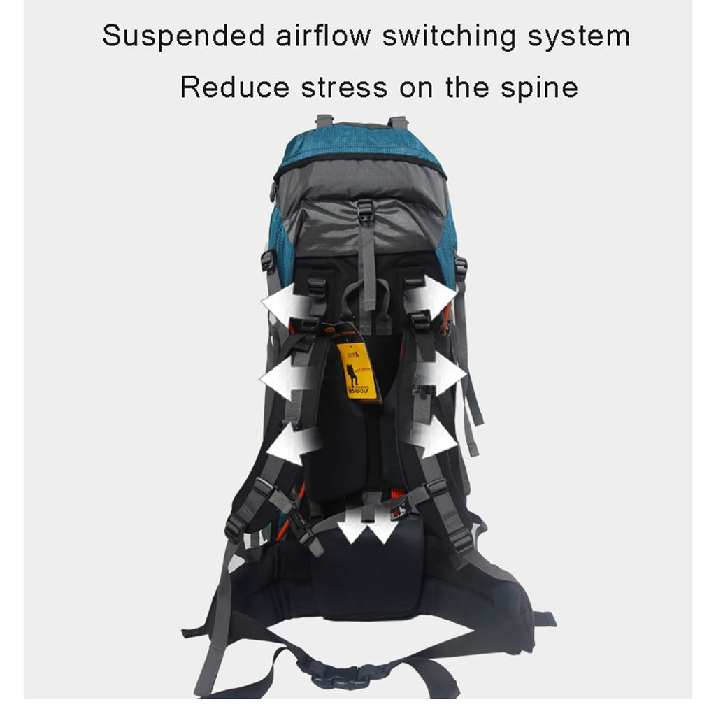 ee63d6ab7612 Qi Peng Mountaineering Backpack-85L Large Capacity Backpack/Unisex ...