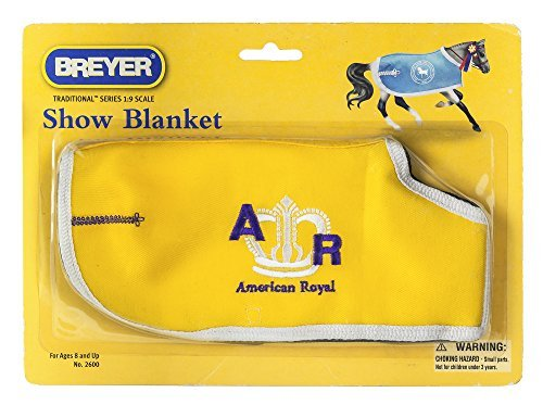 Show Blanket 1 Piece Breyer Show Blanket(Colors and Styles May Vary)