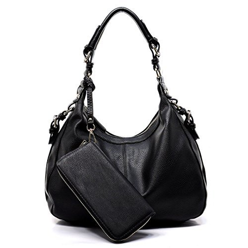 Emperia Outfitters Chloe Concealed Carry Hobo & Wallet Set (Black) ()