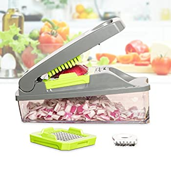Onion Chopper Pro Vegetable Chopper By Mueller - Strongest - No More Tears Heavier Duty Multi Vegetable-fruit-cheese-onion Chopper-dicer-kitchen Cutter 3