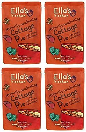(4 PACK) - Ellas Kitchen - S3 Cottage Pie | 190g | 4 PACK BUNDLE by Ella's Kitchen