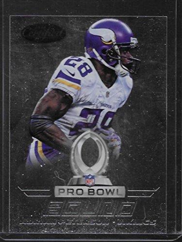 (2014 Certified Pro Bowl Bound #7 Adrian Peterson NM-MT Vikings )