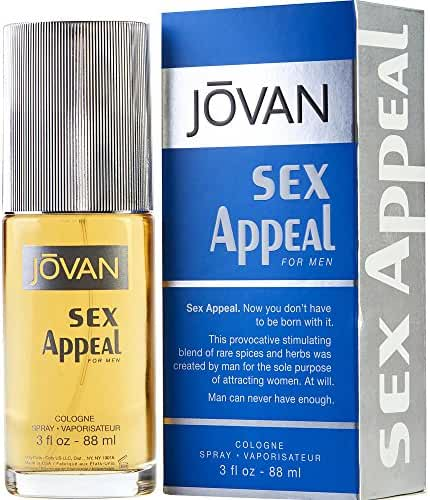 JOVAN SEX APPEAL by Jovan COLOGNE SPRAY 3 OZ (Package Of 2)