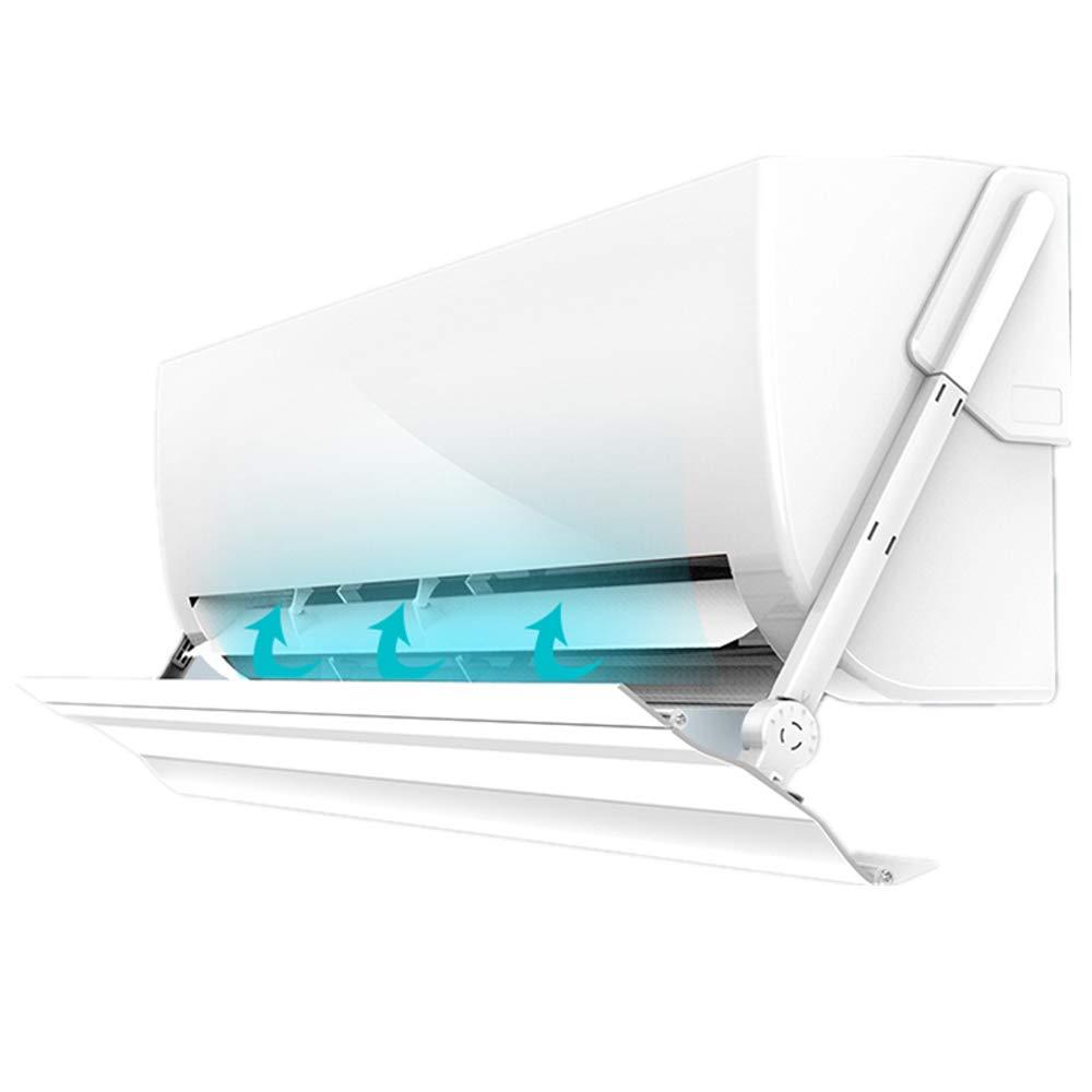 エアコンデフレクター、調節可能なヒーター角度、調節可能な翼、長さの異なるエアコンに適している、プラスチック鋼 100cm  B07Q4J371S