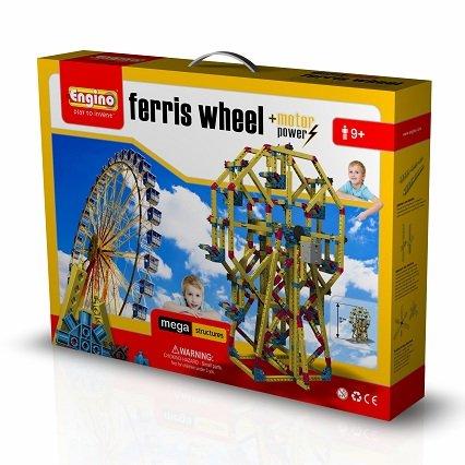ENGINO MS2 - Mega Strutture  Costruzioni per Ricreare Il Modello Ruota Ferris
