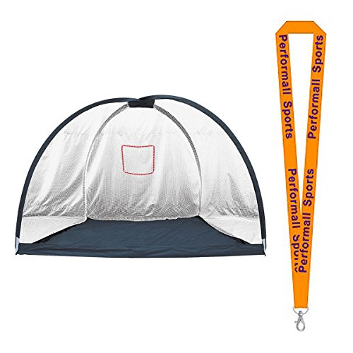 Champion Sports Multi-Sport Net with 1 Performall Lanyard NB7115-1P by Performall Sports Baseball Field Equipment