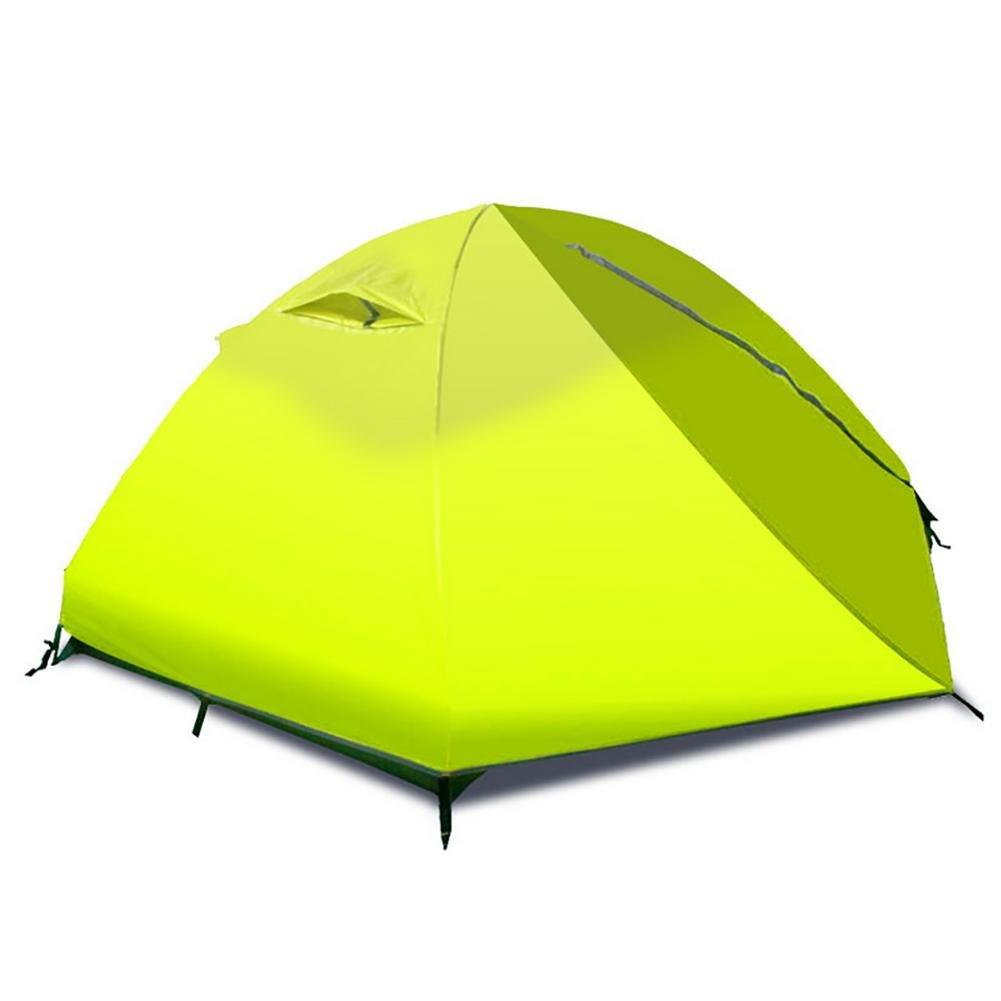 MIAO Outdoor 2 Personen Double Layer Anti-Rain Camping Zelt