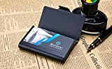 MaxGear Large Metal Business Card Holder for Men