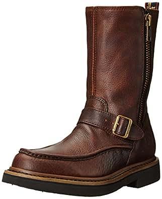 Georgia G4124 Mid Calf Boot, Brown, 7 M US