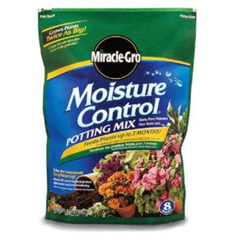 Miracle-Gro Moisture Control Potting Mix, 16-Quart (0.53-Cubic Feet) by Miracle-Gro