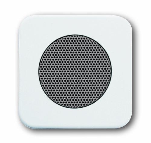 ReflexSI alpinwei/ß Komplett-Set Lautsprecher 8217U Busch J/äger Unterputz UP Bluetooth Radio Abdeckungen in 2 fach Rahmen integriert Radioeinheit 8217 U