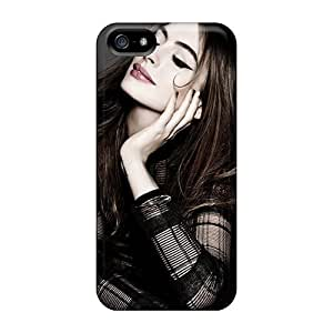 ChrisArnold Ddg26475aFoq Cases Covers Iphone 5/5s Protective Cases Anne Hathaway