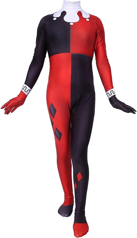XWQXX Halloween Cosplay Tight Jumpsuit Watch Pioneer Harry Quinn ...