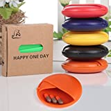 BOSOMEE Pill Cases Portable Sealed Moistureproof Pill Box Container Cases Organizer Travel Medicine Box