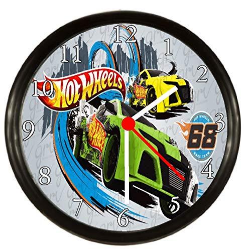 Hot Wheels Posters - Rusch Inc. Hot Wheels Wall Decor Clock