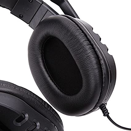 Amazon.com: Leoie Stereo Gaming Headset Noise Cancelling 3.5mm Wired Over Ear Headphone with Mic for PS4 Xbox One Nintendo Switch PC: Computers & ...