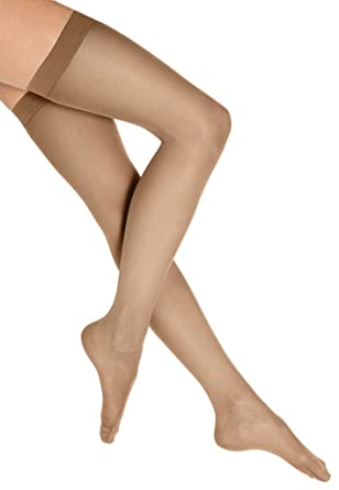5e0850ad2 Image Unavailable. Image not available for. Color  Wolford Individual 10  Stay Up Stockings ...