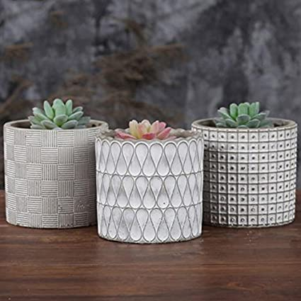 Buy Pinkdose 11x10 3cm Cylinder Concrete Planter Silicone Mold