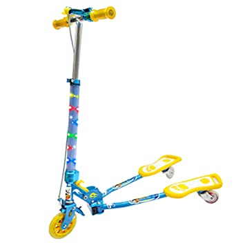 Amazon.com: Skates Skateboards - Patinete infantil con tres ...