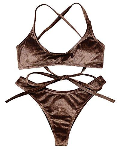 Brown Bikini in Australia - 2