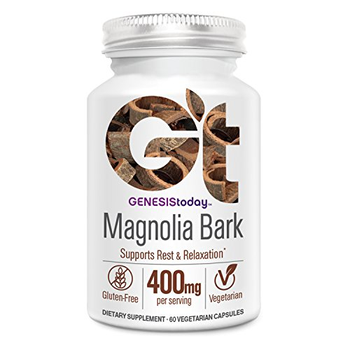 Genesis Today, Magnolia Bark Supplement, 60 Count