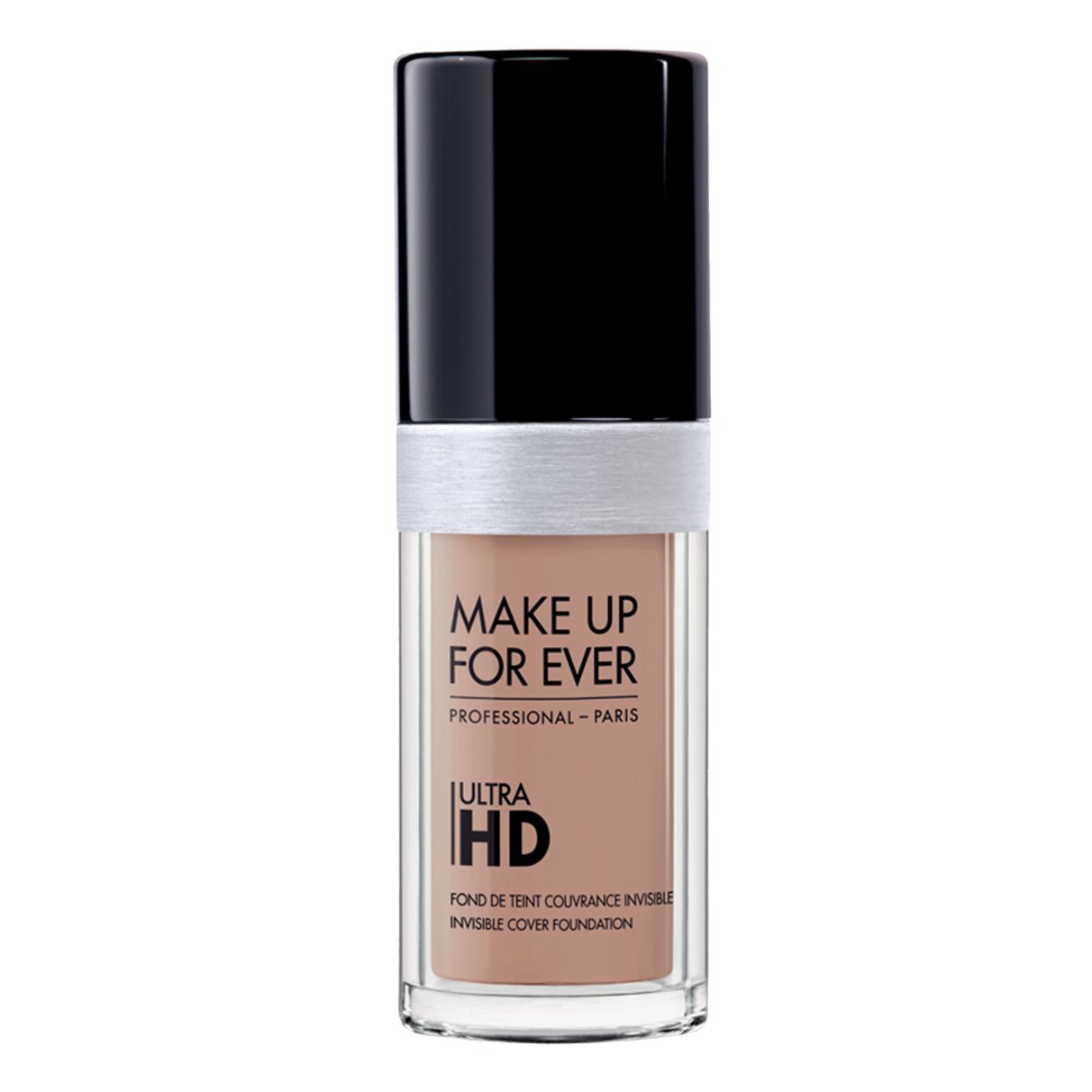 Foundation Ultra Hd Fluid Foundation Ultra Hd, 135-R300 VANILLA , Authentic 100% From Paris France (Smooth, Oil Free , Cover Ance Dark Spot , Brightening) 30ml