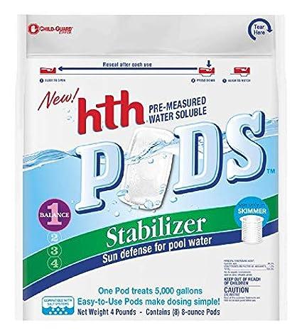 Amazon.com: HTH - Cápsulas químicas para piscinas solubles ...