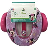 Disney Minnie Mouse Soft Potty Seat with Handles and...