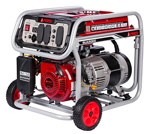A-iPower 5,000-Watt Gasoline centric guidebook Start Generator through GFCI Outlets Cheap For Month