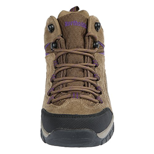 Pictures of Northside Womens Pioneer Mid Rise Leather Hiking 6
