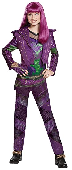 disguise disney princess descendants 2 mal isle deluxe child halloween costume child m 7